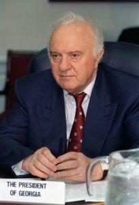 ادوارد شواردنادزه نخستین رییس جمهور گرجستان
