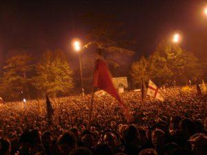 انقلاب گل رز در سال 2003 میلادی
