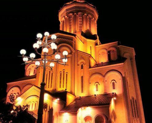کلیسای سامِبا در تفلیس