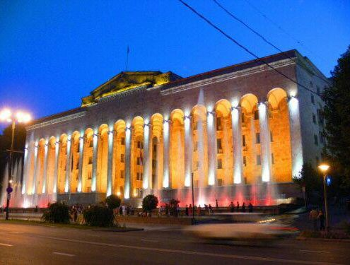 ساختمان اتحادیه اروپا در تفلیس