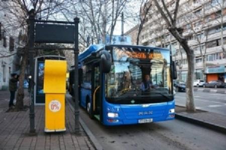 اتوبوس های شهری تفلیس