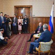 سفر پوتین به آبخازیا