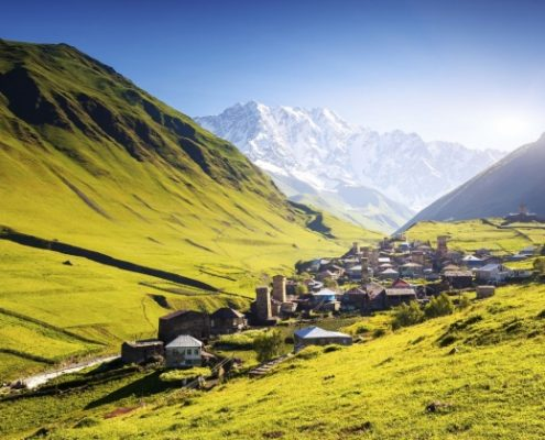 کوه های سوانتی