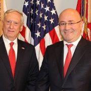 دیدار وزیر دفاع گرجستان با وزیر دفاع آمریکا
