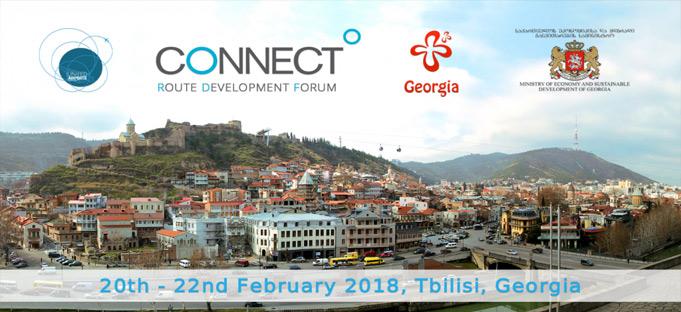 سمینار هوایی اروپا CONNECT 2018 در گرجستان