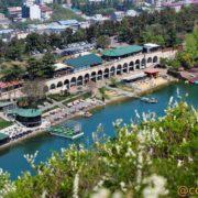 دریاچه لاک پشت تفلیس گرجستان