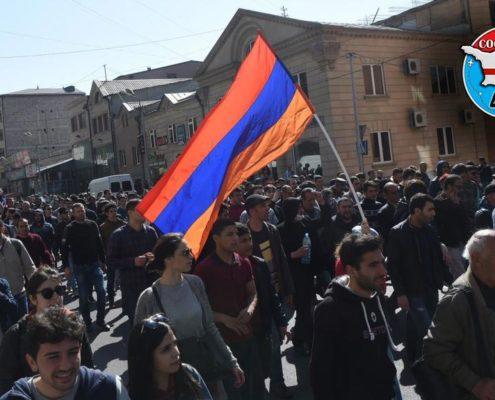 شورش در ارمنستان