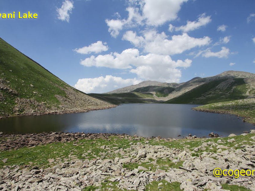 دریاچه لوانی گرجستان