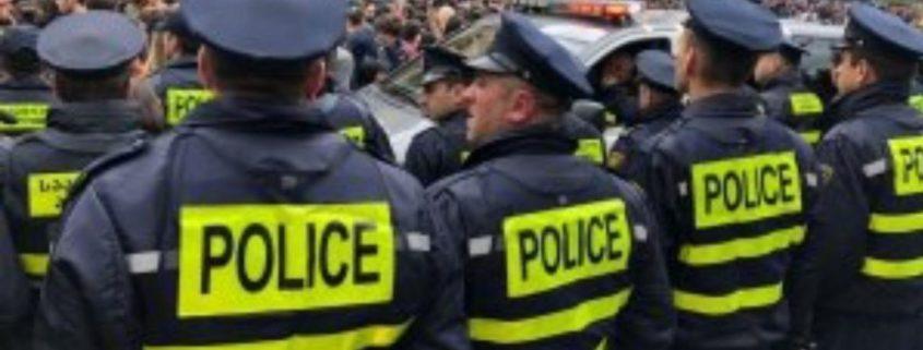 تظاهرات در تفلیس