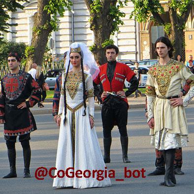 پوشش مردم گرجستان