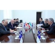 ملاقات سفیر ایران با وزیر امورخارجه گرجستان