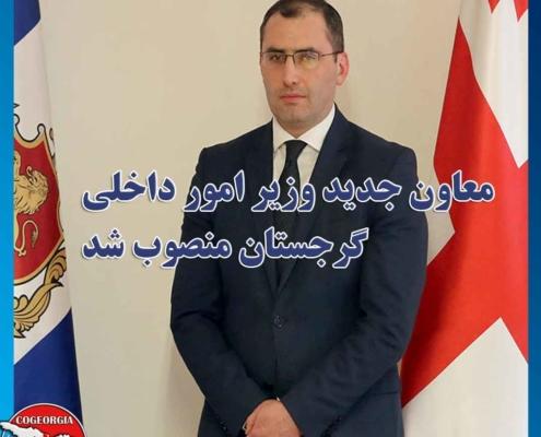 معاون وزیر امور داخلی گرجستان