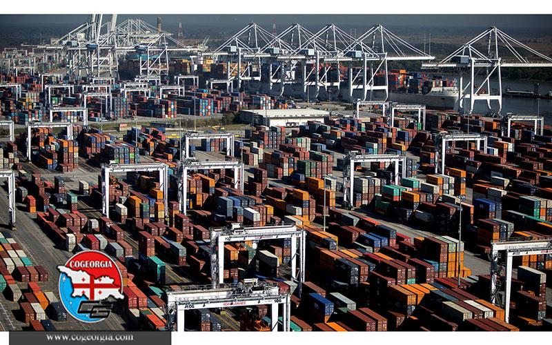 مقادیر صادرات گرجستان