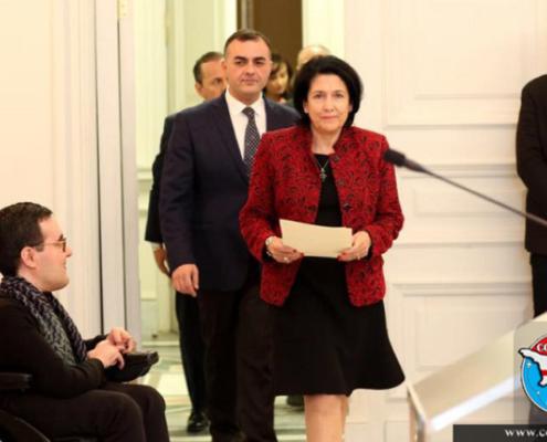 استعفای رییس اداره رئیس جمهور گرجستان