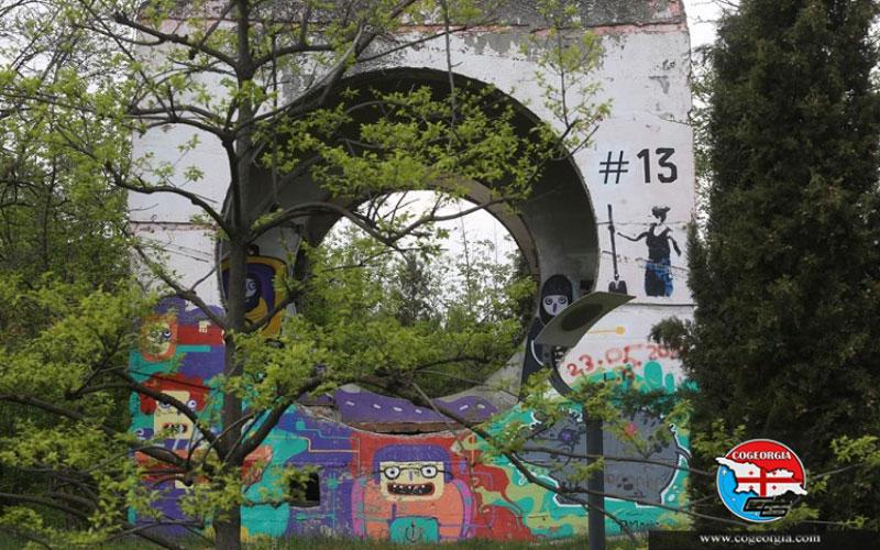 بازسازی پارک میزوری تفلیس