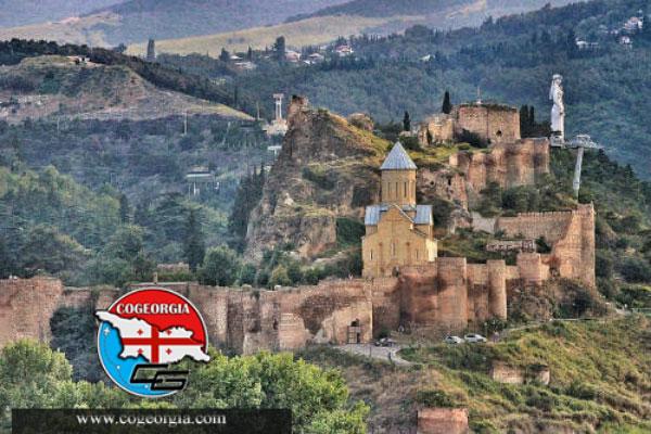 قلعه ناریکالا تفلیس یک جاذبه گردشگری گرجستان