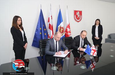 قرارداد میان راه آهن گرجستان و مرکز ۱۱۲