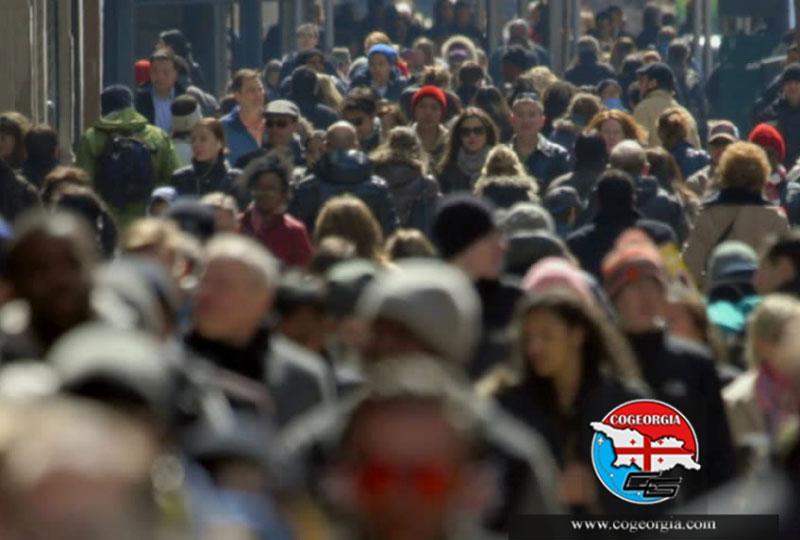 تغییرات جمعیت گرجستان