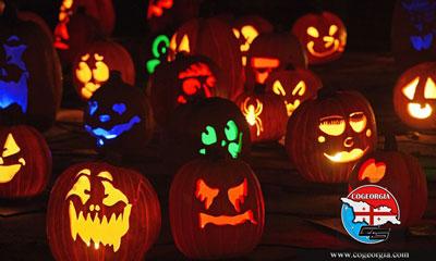 جشن هالووین در گرجستان