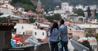 بازدیدکنندگان گرجستان در آوریل ۲۰۱۹