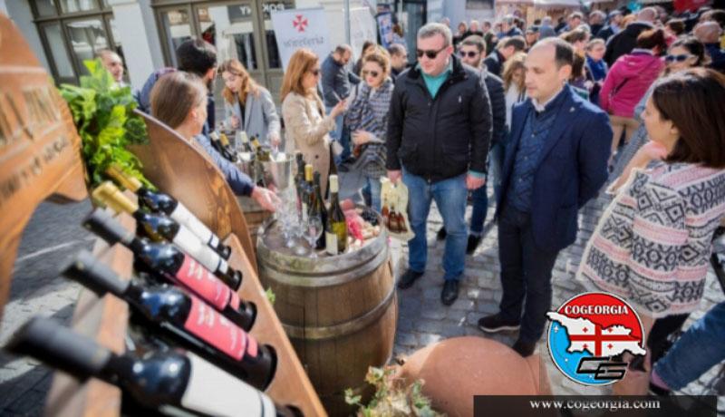 جشنواره شراب یکی دیگر از مناسبت های گرجستان